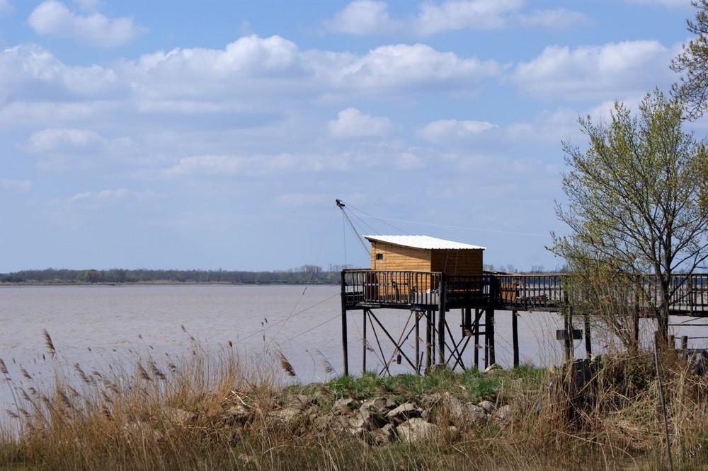 Cabane de pêcheur en Gironde