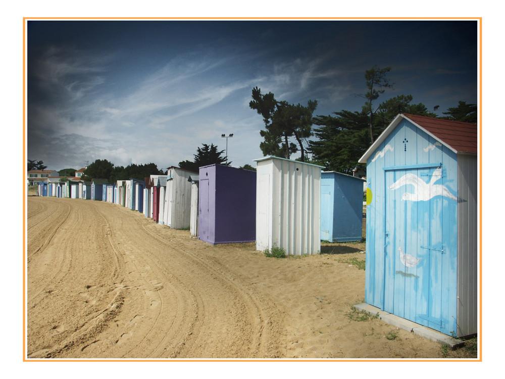 cabane de plage