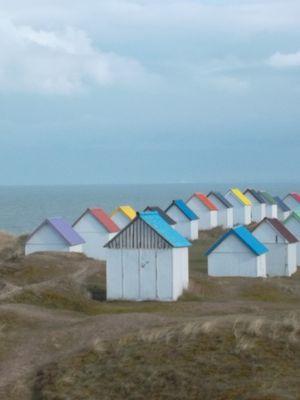 Cabane de rangement de pêche -Normandie-