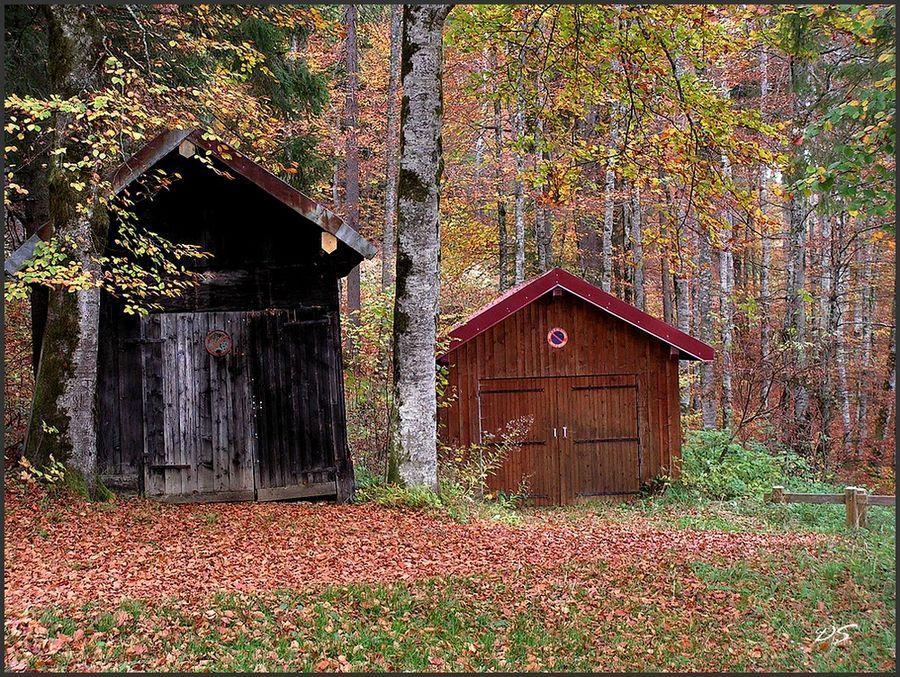 cabanes dans le jura