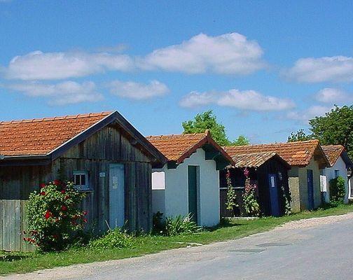 cabanes ostréicoles en Charente maritime