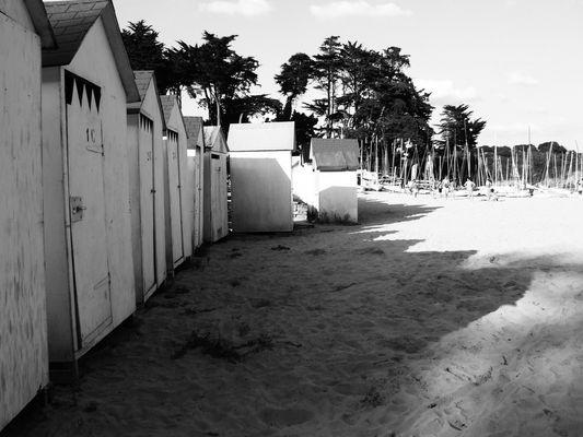 Cabanons de plage