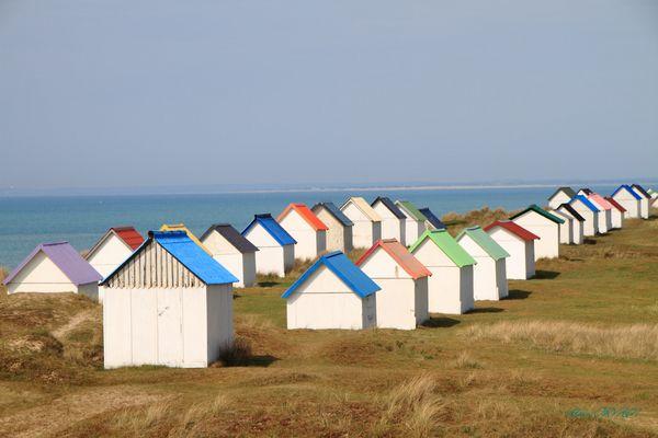 Cabines à la plage