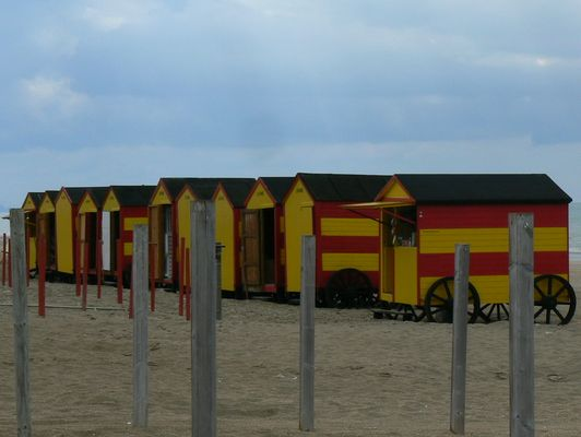 cabines de plage en Belgique