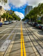 Cable Car Schienen - San Francisco