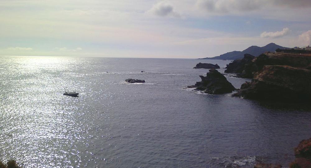 Cabo de Palos un mediodía otoñal