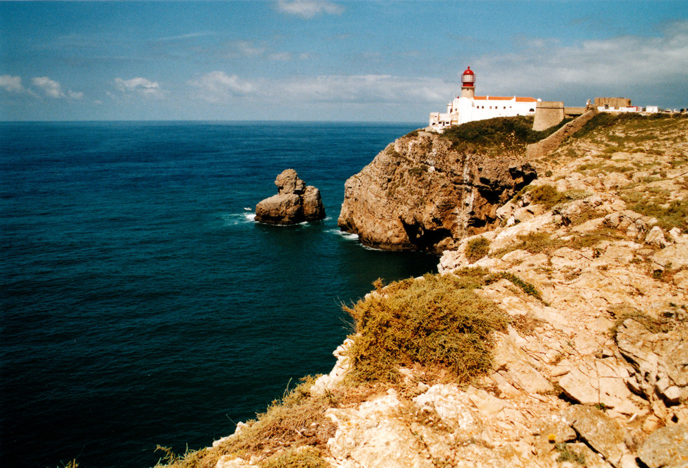 Cabo de S. Vicente - Der südwestlichste Angler Europas - Leuchtturm