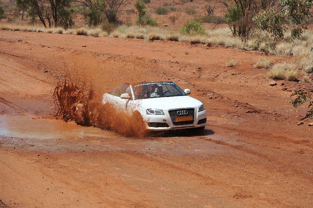 Cabriochallenge im Outback