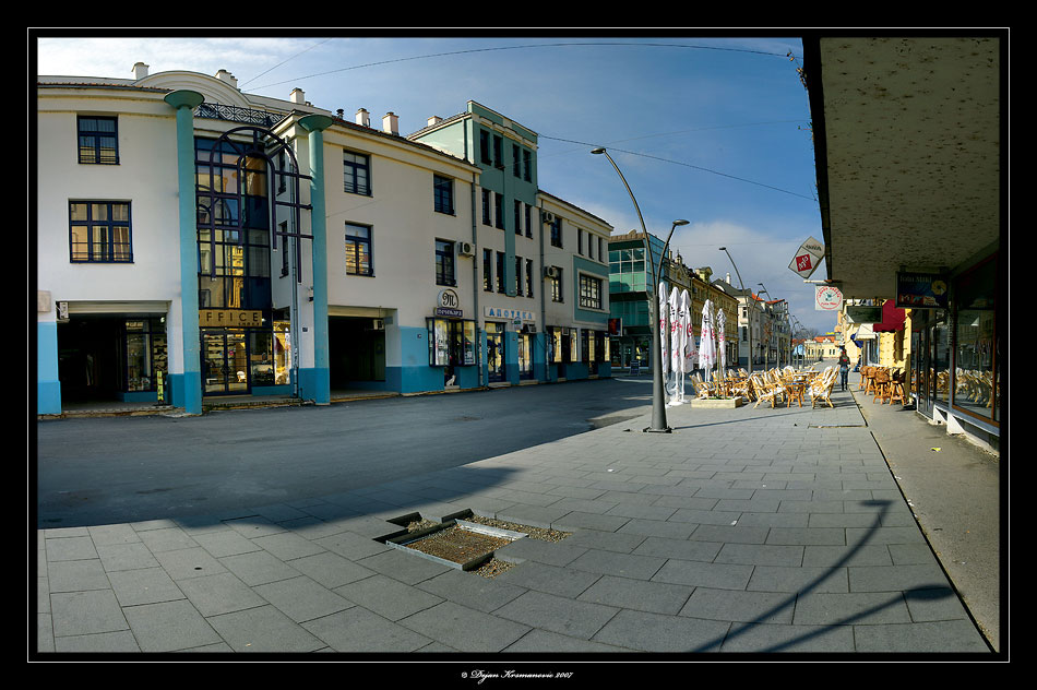 Cacak City Downtown Serbia
