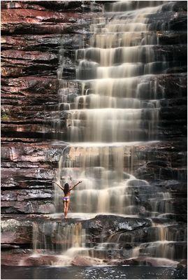 Cachoeira dos Cristais, Chapada Diamantina