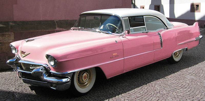 Caddy in Pink