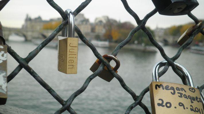 Cadenas du pont des amoureux