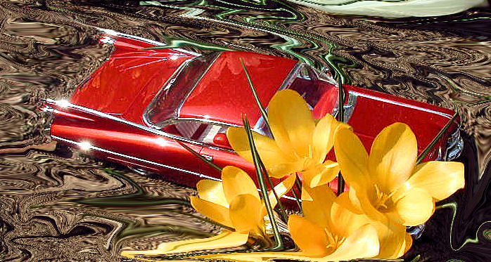 cadillac 59 in rot