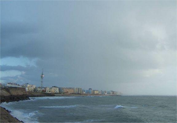 Cádiz desde el Campo del Sur