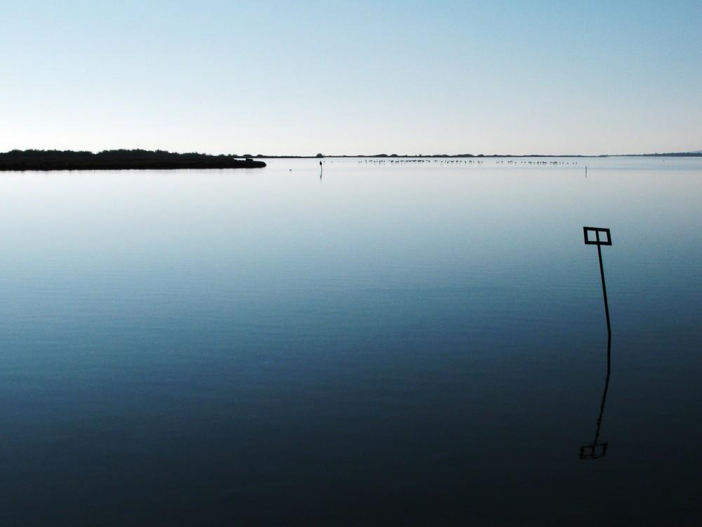 Cadre sur l'étang, villeneuve les maguelone (FRANCE 34)