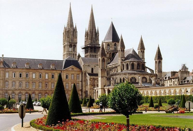 Caen, Abbaye aux Hommes (Calvados, Normandie, Frankreich)
