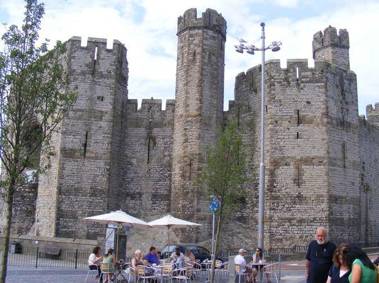 Caernarfon Castle, Gwynedd, North Wales, UK.