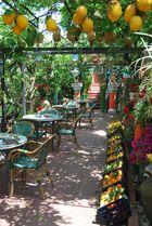 Cafe an der Amalfiküste