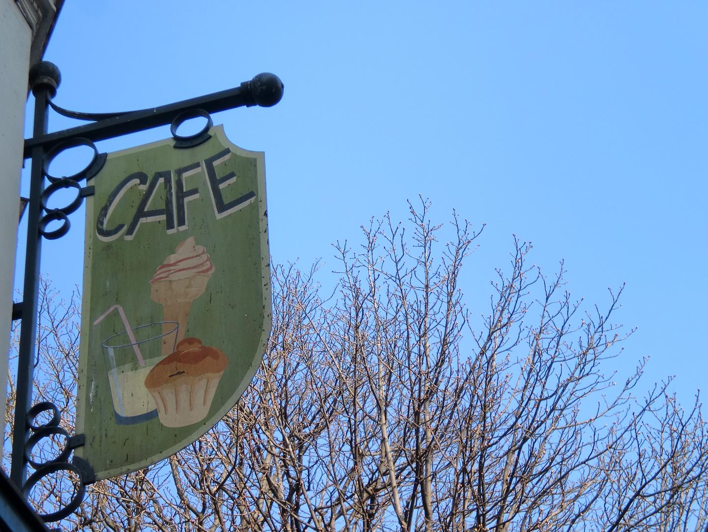 Café auf Montmartre