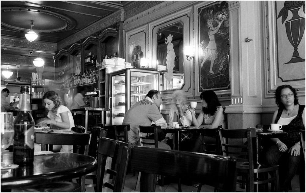 Cafe de la Opera, Barcelona Okt. 2009