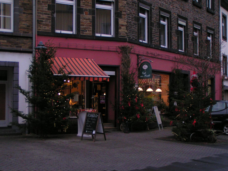 Cafe in Ehrenbreitstein