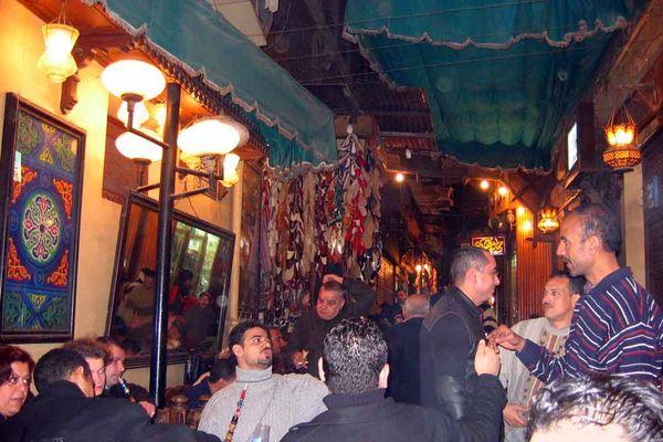 Cafe in Kairo