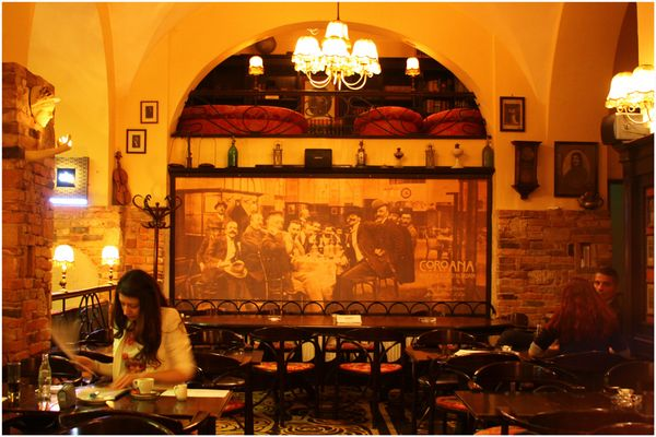 Cafe Kronstadt in Brasov (Kronstadt)