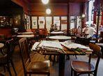 Café Leopold Hawelka innen