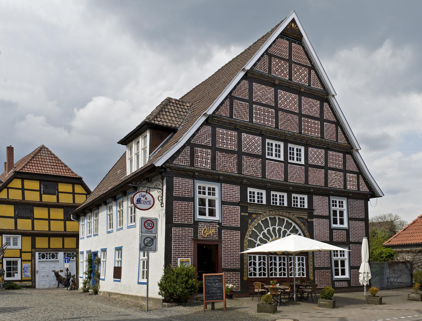 Café Münte in Rietberg steht unter Denkmalschutz