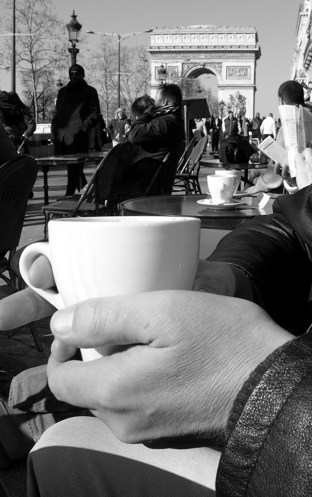 Café Olé auf dem Champs-Elysées