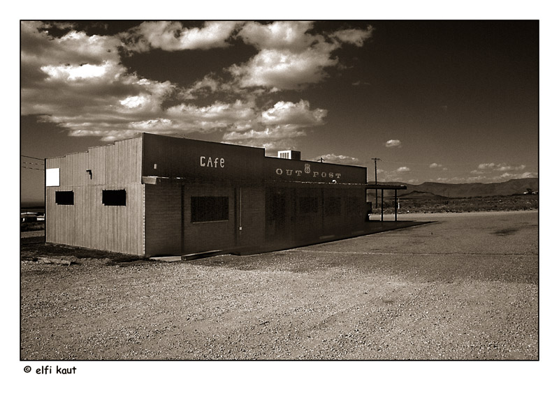cafe outpost ... route 66