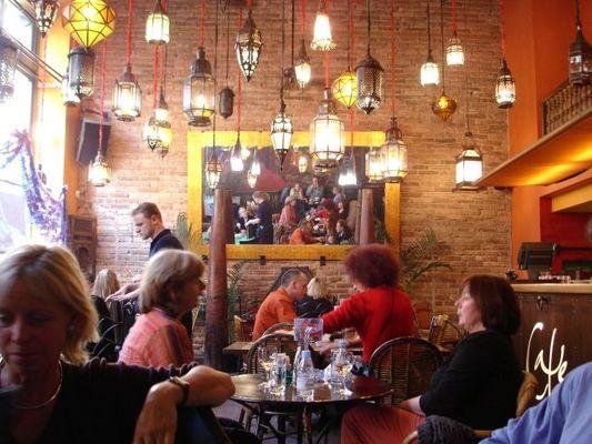 Cafe Patio Prag