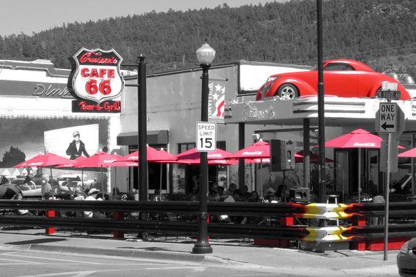 Cafe Route 66 in Williams (Arizona)