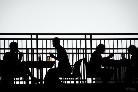 Cafe terrasse a Jerusalem