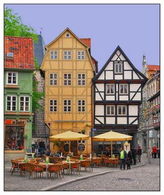 Cafe's in Quedlinburg