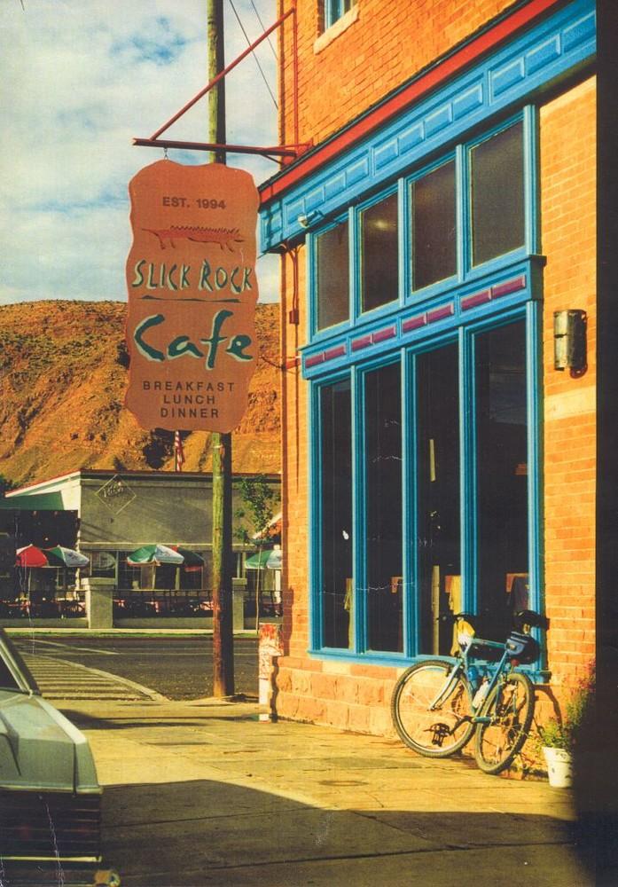 Cafe`s und Bars, Slickrock Cafe, Moab Utah