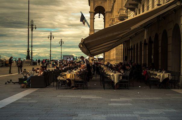 caffè degli specchi Trieste