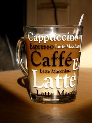 Caffé Latte, what else?