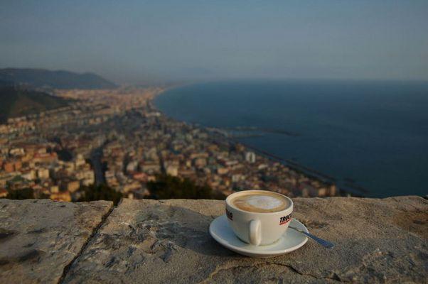 Caffè nel Castello di Salerno