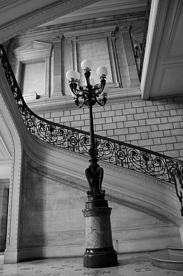 Cage d'escalier Université Bordeaux II