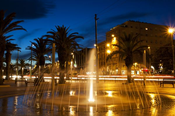 Cagliari by night
