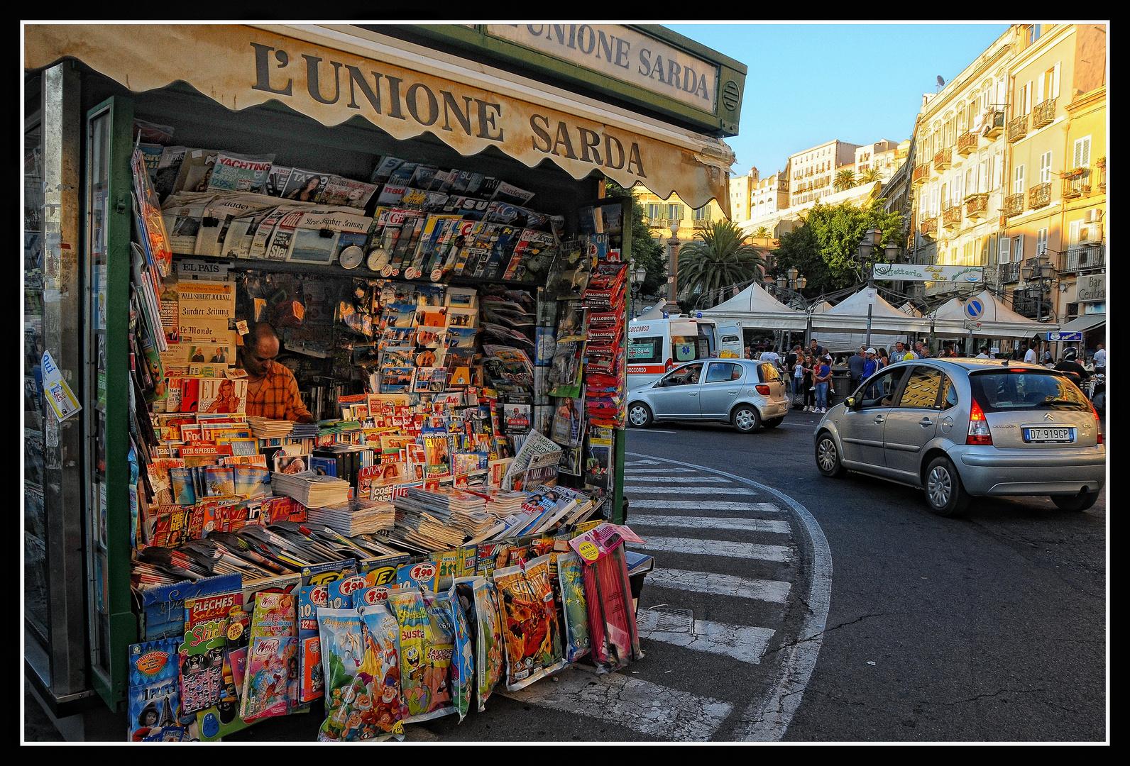 Cagliari - Piazza Yenne