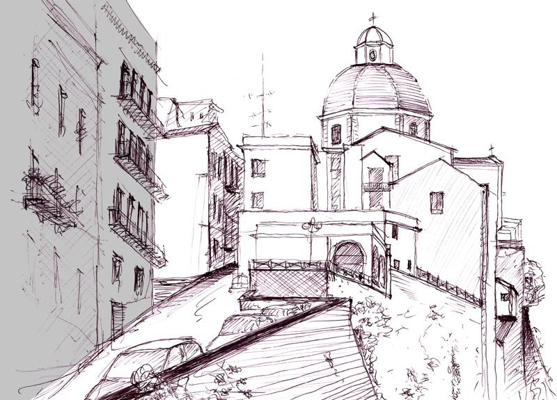 cagliari_dom skizze