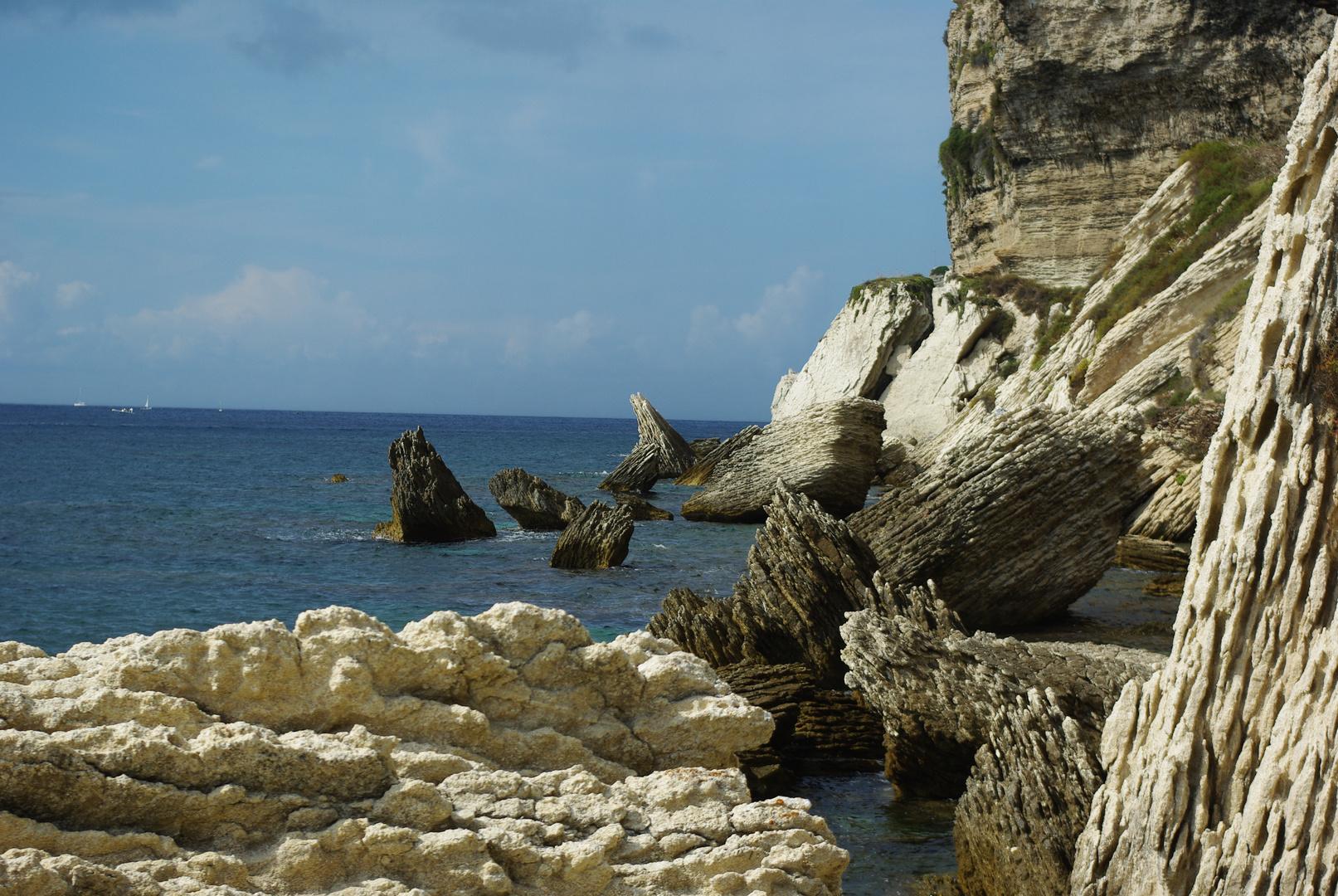 cahot rocheux en Corse