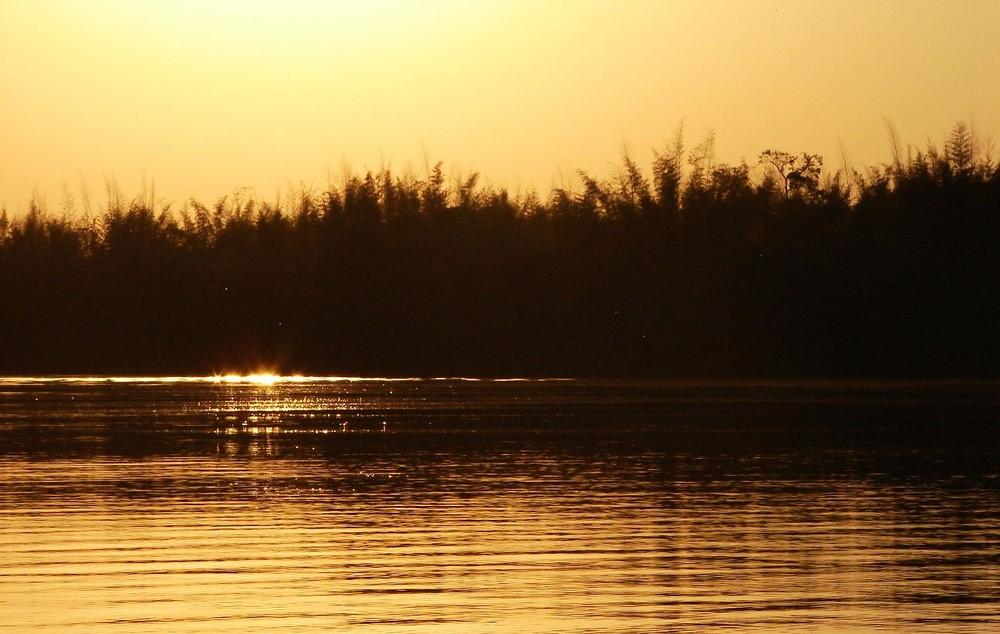 Cai a tarde no Iguaçu