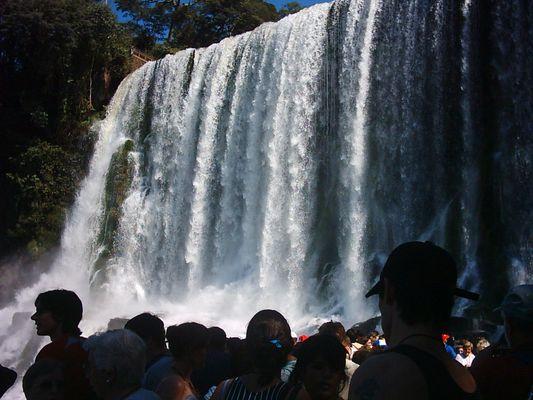 Caida de Agua, Cataratas de Iguazu
