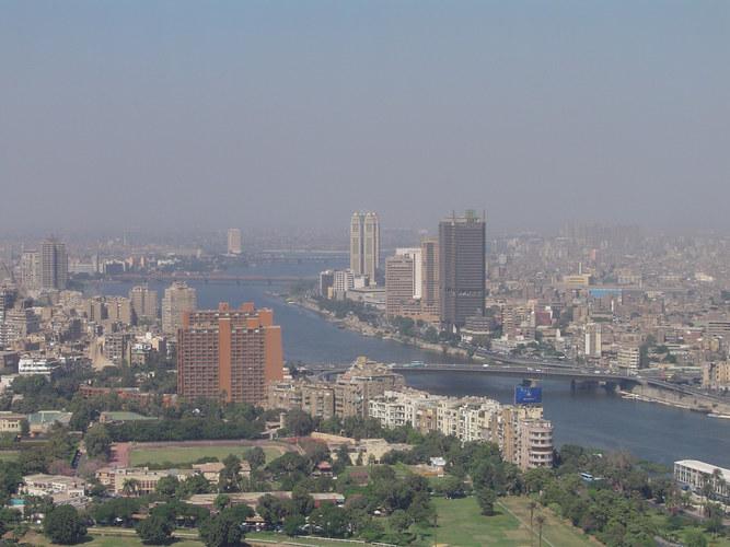 cairo tower nur für schwindelfreie