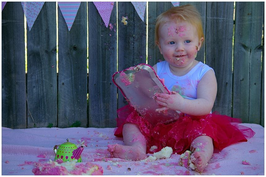 Cake Smash Fotoshooting 3