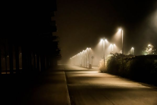 Cala la nebbia