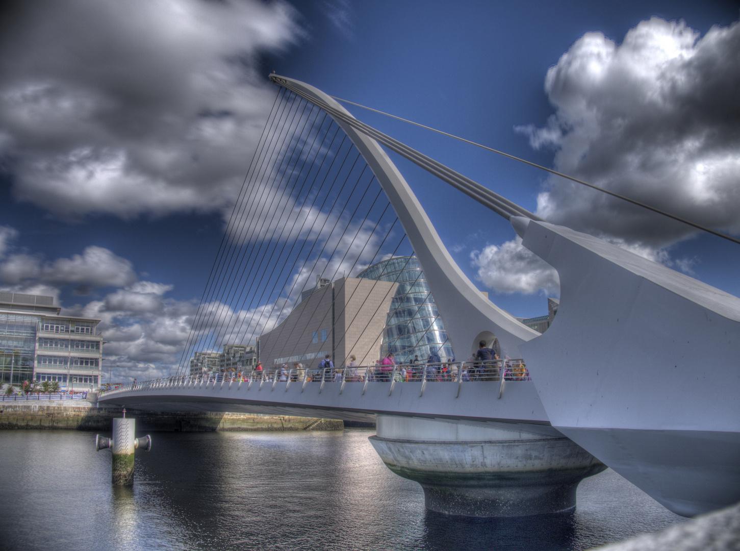 Calatrava-Brücke in Dublin